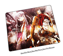 attack on titan mouse pad Christmas gifts pad to mouse notbook computer mousepad Colourful gaming padmouse gamer desk mouse mats