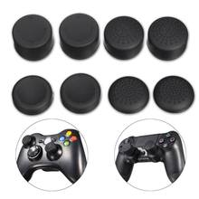 8Pcs/set Silicone Thumbstick Joystick Cap Cover For Sony For Playstation For PS4/PS3 For Xbox 360 Wireless Controller Accessory