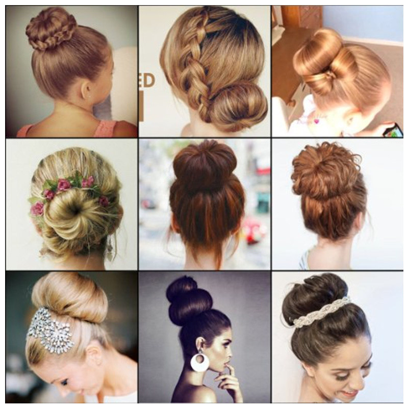 New-Plate-Hair-Donut-Bun-Maker-Magic-Foam-Sponge-Hair-Styling-Tools-Princess-Hairstyle-Hair-Accessories (5)