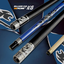 New Arrival 3142 Brand China Pool Cues Billiard Stick 13mm/11.5mm/10mm Tips Black/White/Blue Colors 2017