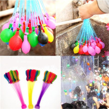 111pcs/lot Magic Water Balloons Fast Filling Bombs Balloons Kids Garden Party Balloons Summer Game Amazings Water Fight Balloons(China)