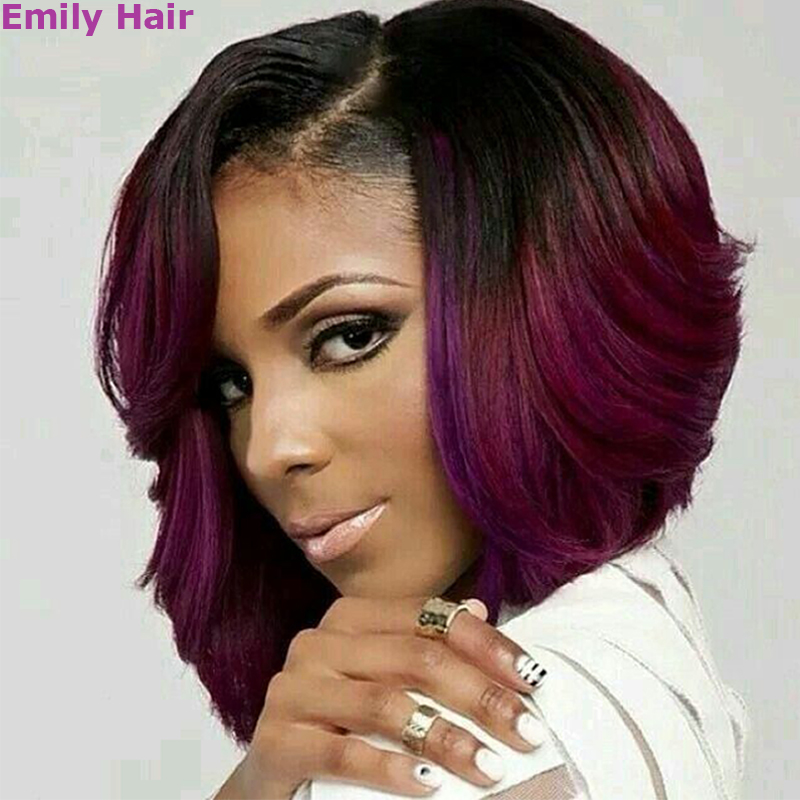Wigs For Black Women Black Wig Natural Cheap Hair Korean Hair Lace Front Wig Synthetic Purple Long Wig Afro Fashion Ombre Bob<br><br>Aliexpress
