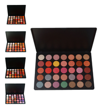 2017 ISMINE hot sale free shipping 35 color eyeshadow 18 color make up palette glitter and mette eyeshadow kit