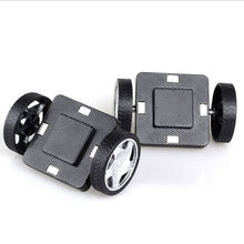 2pc Car base wheel access kid Magnetic building Brick Design Magnet block Assemble DIY Model gift toy children Educational Game