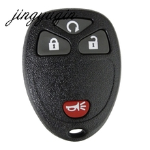 jingyuqin 4 Buttons Keyless Entry Remote Key Shell for BUICK Terraza 2005 - 2007 For G-M /GMC Chevrolet /PONTIAC 3 BTN+ Panic