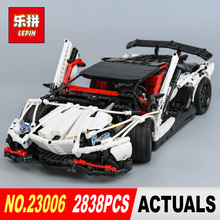 Lepin 23006 2838Pcs Genuine MOC Technic Series The Hatchback Type R Set Building Blocks Bricks Toys for Christmas Gifts Model(China)