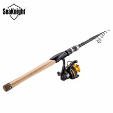 SeaKnight Fishing Rods Reels Combo 10+1BB Spinning Reel TREANT 2000/3000 5.2:1 Fishing Wheel+ 2.1/2.4M Sange Lure Spinning Rod(China)