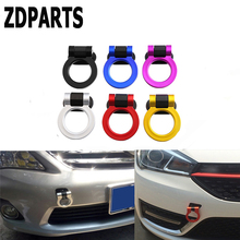 ZDPARTS Car Styling Decoration Trailer Hooks Tow Sticker Mercedes Benz W203 W204 211 AMG Smart Starline A93 Citroen C4 C5
