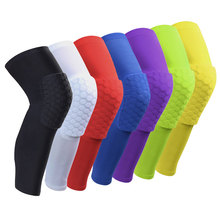 YD Hot New Breathable Crashproof Sports Brace Protector Shooting Sport Knee Sleeve Safety Honeycomb Basketball Knee Support Pads(China)