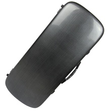 New Light High Quality Double Violin Case Composite Carbon Fiber 4/4 Violin Fiddle Case Full Size Violin Case Bow Holders