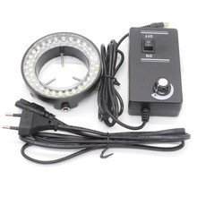 Free ship 56pcs LED Microscope Ring lamp Microscope Lighting Microscope Ring lamp LED illuminator Lamp For Ster Microscopes
