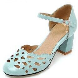 Женские туфли на высоких каблуках из экокожи с вырезами