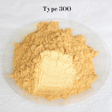 Type 300 Gold  Pigment Pearl powder dye ceramic powder paint coating Automotive Coatings art crafts coloring for leather