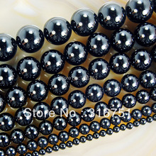 "Hot Sale 15.5"" Smooth Round Agata Onyx Beads 4 6 8 10 12 14 16mm Pick Siz Free Shipping Aa-F00061"