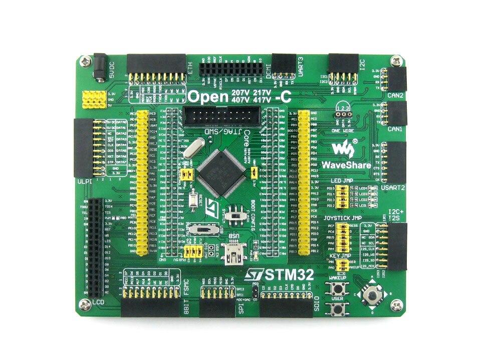 Parts STM32 Board STM32F407VET6 STM32F407 ARM Cortex-M4 STM32 Development Board + PL2303 USB UART Converter = Open407V-C Standar<br>
