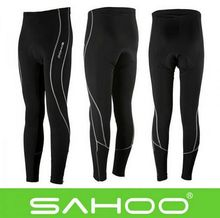 Sale! SAHOO Outdoor Women Men Cycling Running Long Shorts/Cycling Pants Pant Stretch Tight Pants Compression Tights Size S-3XL