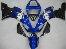 Hot Sales,98 99 YZF1000 R1 fairing For Yamaha Yzf R1 1998 1999 Sport Motorcycle Blue and Black Fairings (Injection molding)(China)