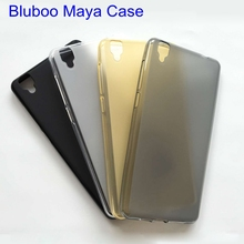 Bluboo Maya Case Soft TPU Cell Phone Matte Pudding Protective Cover Funda Free shipping