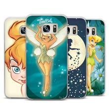 Tinkerbell little prince Clear Phone Case Cover for Samsung Galaxy Note 2 3 4 5 7 S3 S4 S5 Mini S6 S7 S8 Edge Plus