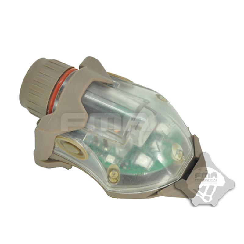 Dark Earth Color FMA Snail Flash Tank Top Slab For Strobe Light