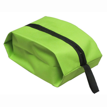 HGHO-100% Good Waterproof Travel Outdoor Home Tote Toiletries Laundry Shoe Pouch Storage Bag green