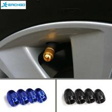4 Pcs/lot American Type Auto Car Tire Valve Caps Tyre Wheel Bullet Air Stems Cover Airtight rims Accessories car styling