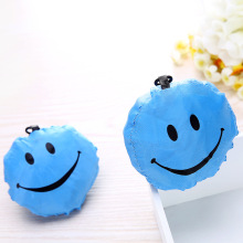 Foldable Shopping Bag Cute Emoji Organizer Beautiful Reusable Bag Hot Selling Home Eco bag Storage Handbag