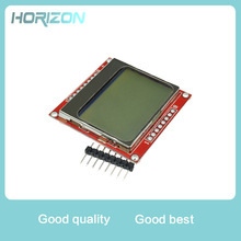 Smart Electronics LCD Module Display Monitor White Backlight Adapter PCB 84*48 84x84 for Nokia 5110 Screen for arduino