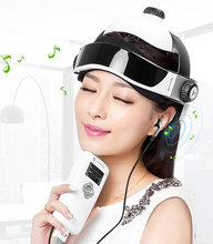 Electric Head Massager Helmet Scalp Brain Relaxation Electrical Vibration Acupuncture Nerve Stimulator Brain Physiotherapy