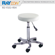 RD-YS01+R04 360 degree swivel castor high quality white doctor dentist chair Pedicure nusing checking spa salon facial stool(China)