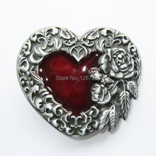 Distribute Belt Buckle The belt agio retro heart-shaped flowers Belt Buckle Free Shipping 6pcs Per Lot Mix Style is Ok