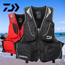 2017 NEW DAIWA Fishing life jacket Vest DAWA Fishing gear outdoors Breathable buoyancy 120 kg Man DAYIWA DF-6305 Free shipping