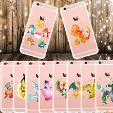 Buy Cute Cartoon Pokemons Pattern Soft TPU Case iPhoneX Case iPhone 8 8Plus 6SPlus 5S SE Phone Cases Back Cover Coque Fundas for $2.02 in AliExpress store