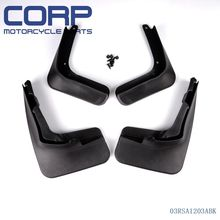 Mud Flap Splash Guard Fender Mudguard For 2013 Ford Fusion Molded 2014 Mondeo