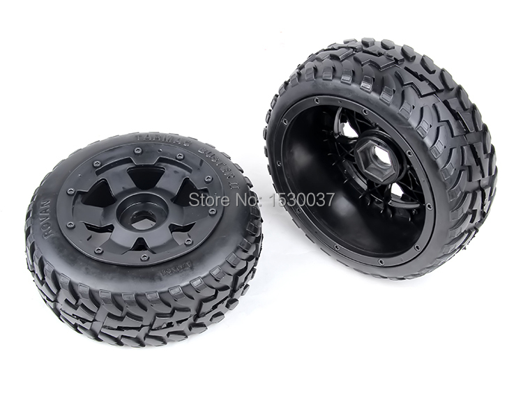 1/5 rc car parts, Baja 5B onroad Front wheels &amp; tyres x 2pcs,free shipping<br><br>Aliexpress