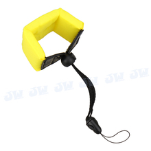 JJC ST-6Y Yellow Waterproof Diving Floating Foam Hand Wrist Armband Strap for Olympus Tough for Sony Floats Your Phone Case Keys
