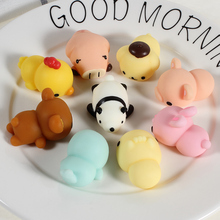 Scented Squishy Toys Cartoon Animal Soft Silicone Squishy Cat Cute Rubber Hand Squeeze Pinch Gag Toys(China)