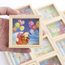 1pc Creative Colorful Wooden 3D Puzzles Toys for Kids Children Cartoon Animal Intelligence Child Educational Baby Toy Game Gifts(China)
