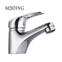 MODING Bathroom Faucet Water Tap Cold And Hot Love Handle Bottom horizontal Bathroom Sink Faucet Basin Faucet #MD1039-B