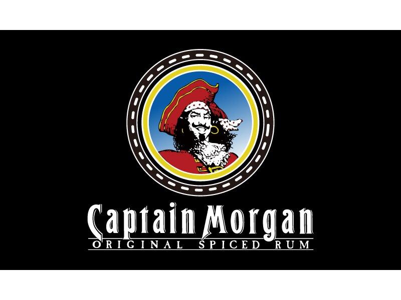 Captain Morgan Banner 3x5ft 100D Polyester Rum Bar Sign Decorative Custom Flag