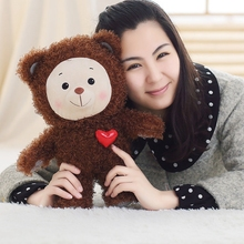 1Pcs 35CM Mini Teddy Bear,Cute Love Teddy Bear Plush Stuffed Doll, Super Soft Teddy Bear Plush Toy, Child Birthday Gift!