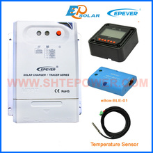 charger solar battery controller Tracer3210CN mppt BLE temperature sensor MT50 remote meter 30A 12v 24v auto work(China)