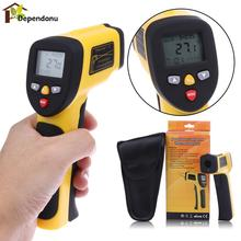 Digital Dual Laser Infrared Thermometer Non-contact IR High Temperature Gun Tester Pyrometer Large Clear LCD -50 to 850 Degree