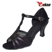Evkoo Dance Brand Woman Latin Salsa Tango Dance Shoes Pu With Mesh Low Cost High Quality Soft Shoes Evkoo-217