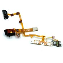 Wholesale For Iphone 3G Power Button Flex Cable Volume Assembly Black Free Shipping With Tracking Number