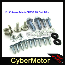 Plastic Fairing Tank Mount Screw Panel Bolts For Chinese CRF50 Pit Dirt Bike Motorcycle 50cc 90cc 110cc 125cc 140cc 150cc 160cc