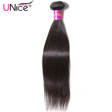 UNICE HAIR Malaysian Straight Hair Extension 8-30inch Natural Human Hair Bundles 100% Remy Hair Weave 1 Piece Can Mix Any Length(China)