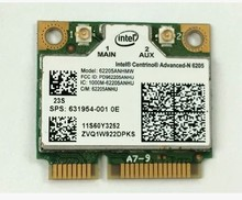 SSEA Wholesale Wireless card For IBM HP intel Centrino advanced-N 6205 6205AGN half mini PCI-E card 300Mbps FRU:60Y3252(China)
