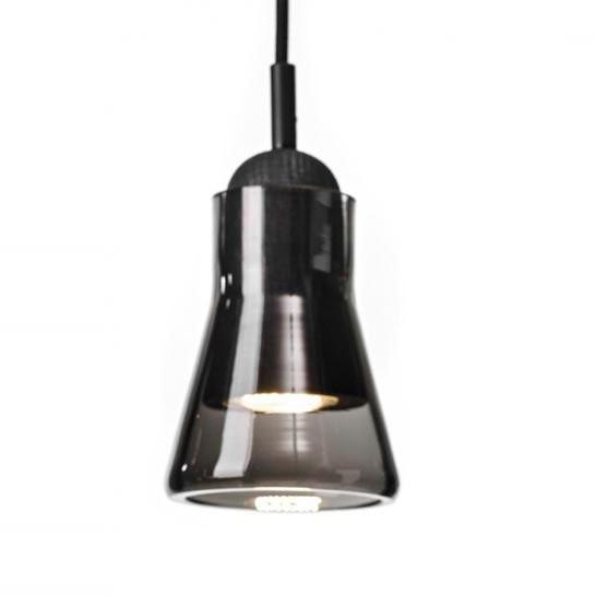 D-D3.7 x H4.7 Modern High Power LED Porch Pendant Lights Smoke Grey Glass Lampshade Creative Bar Counter Ceiling Pendant Lamp<br><br>Aliexpress