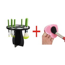 Makeup Brush Dryer Holder Brushes Drying Rack Organizer Hanger Dry Tower Brush Egg Nail Art Brush Cleaner Washing Scrubber tools(China)